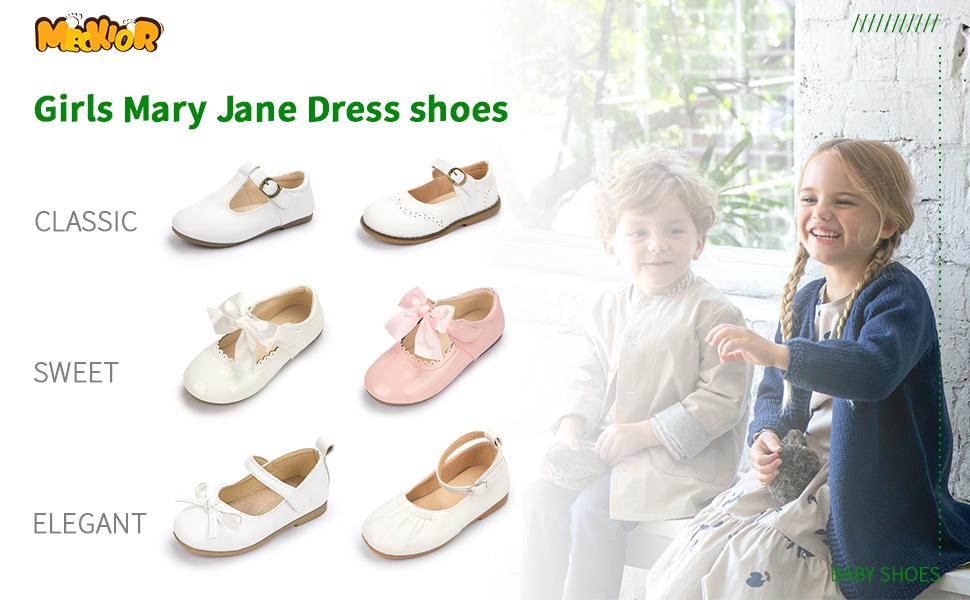 girls baby Mary Jane princess shoes ballerina flat shoes for girls