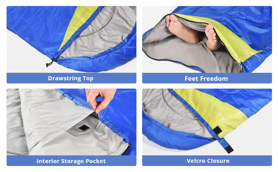 Stuff Sack With Compression Straps Included