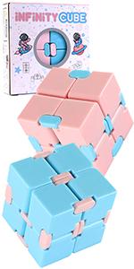 Infinity Cube Fidget Toy 2 Pack
