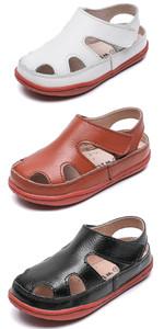 Kids Leather Fisherman Sandals