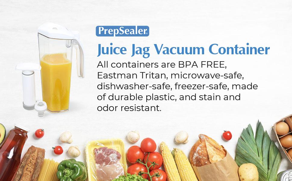 pjuice jag vacuum container microwave safe dishwasher safe freezer safe durable plastic