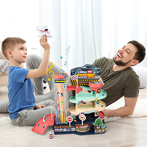 Garage Toy Set
