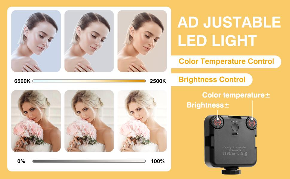 Dimmable Video Conference Lighting