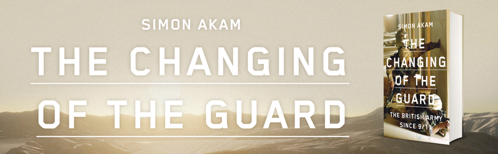 Cover of The Changing of the Guard by Simon Akam