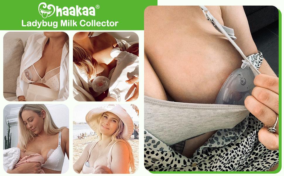 Haakaa Breast Shells Nursing Cup Silicone Breast Milk Collector Nipple Shells 1 PC