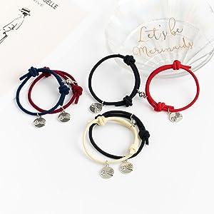 colorful bracelet set for him or her