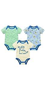 short sleeve bodysuit for baby boy girl
