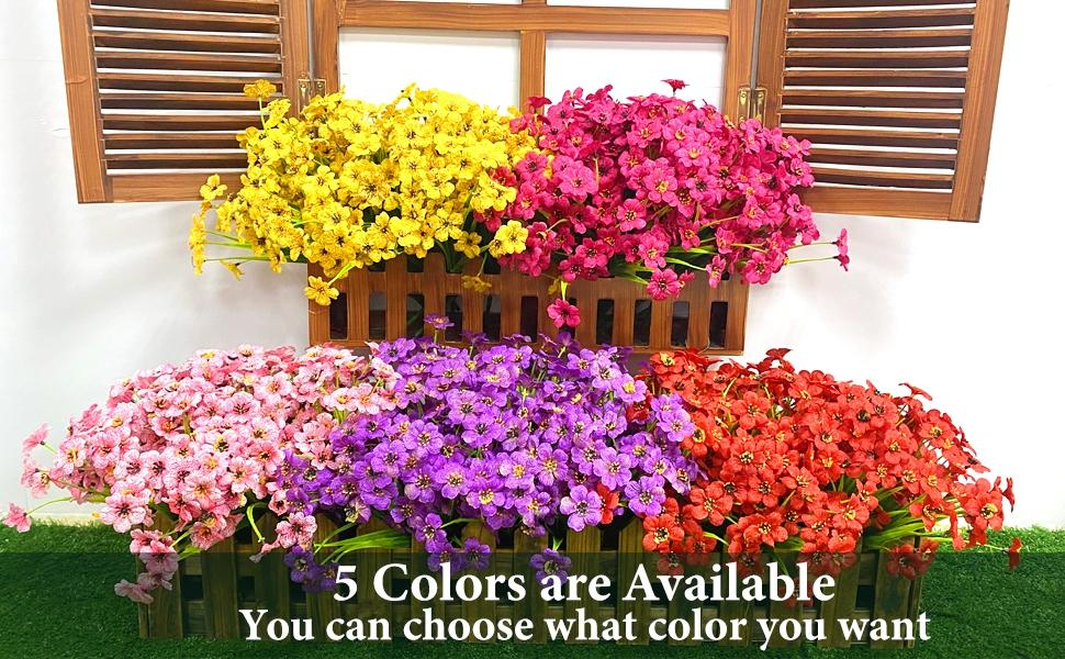 artificial flowers fake flowers artificial flowers for outdoors