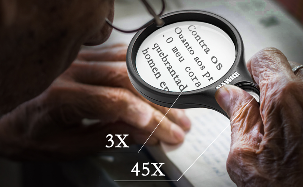 magnifying glass for reading