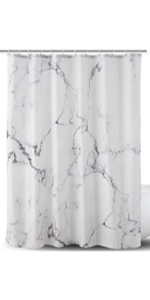 Marble Pattern Design-Fabric Shower Curtain