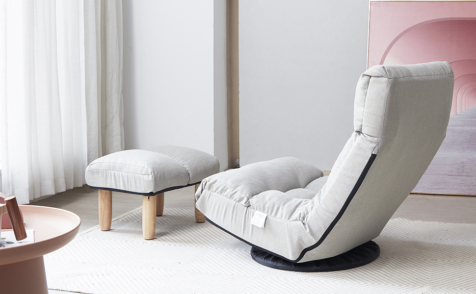 Indoor chaise lounge chair