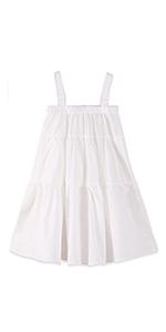 toddler girl white dress