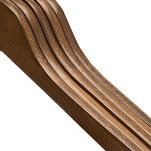 slim wood hangers