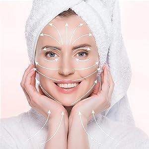 Step-by-step application tricks the pink stuff skincare fridge skin care fridgetool boxice roller