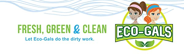 Eco-gals washing machine cleaner