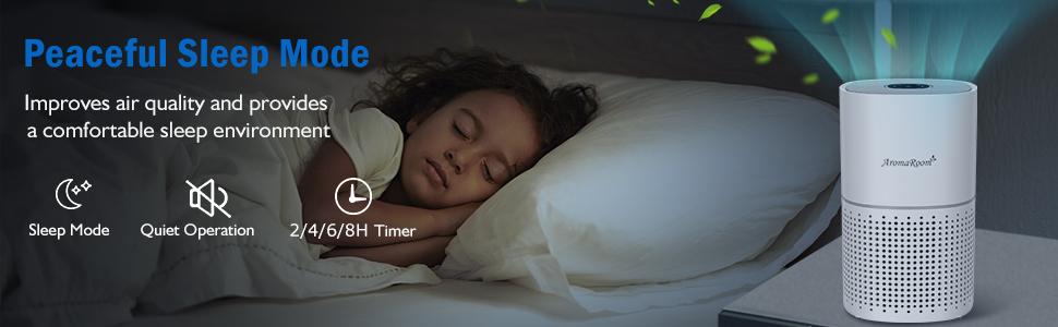 Peaceful Sleep Mode, Whisper-Quiet Operation