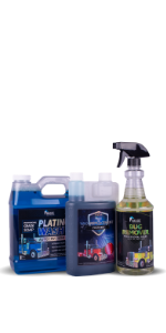 The Essentials Bundle - includes 32oz bug remover, 64oz platinum wash, and 32oz of Wax Replacement