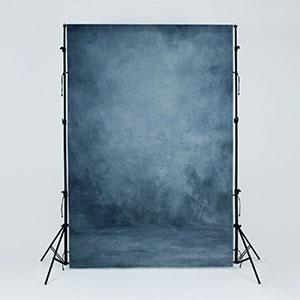 Blue Portrait Backdrop