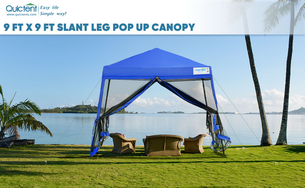 canopy tent with netting