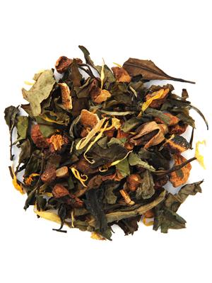 white mimosa tea
