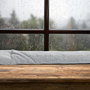 Window Condensation and Moisture Absorber, Heather Grey