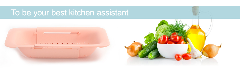 To be your best kitchen assistant