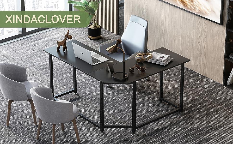 Fashion Modern Corner computer PC table desk