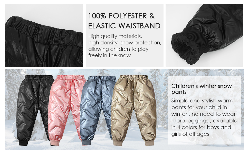 warm trousers for babies