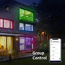 Group control in each room