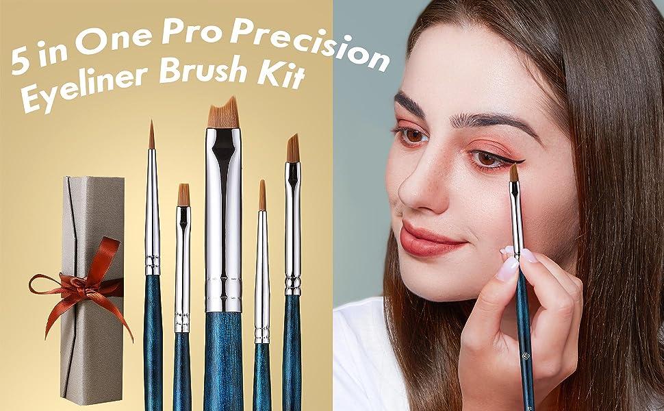 eyeliner makeup brushes