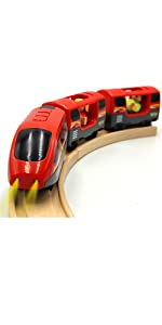 Light High Speed for Wood Train Track