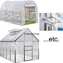 for greenhouse, Canopy, etc.