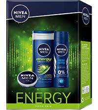 NIVEA Geschenkset Energy Fresh Trio