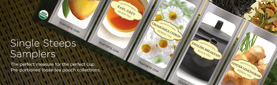 Single Steeps Tea Samplers