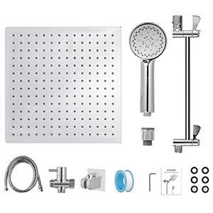 rain shower head packing list