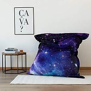 pouf galaxie interieur exterieur pouf XXL geant