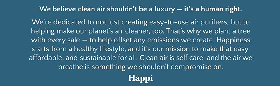we believe cleaner air should be a luxury, making our planet clean