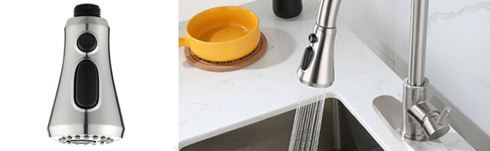 spray head for kitchen faucet