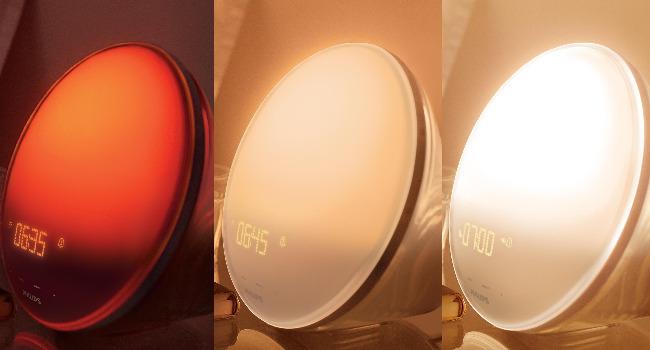 Soluppgångssimulering i färg