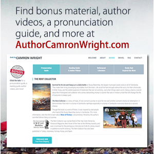 Meet the author of The Rent Collector -  Camron Wright