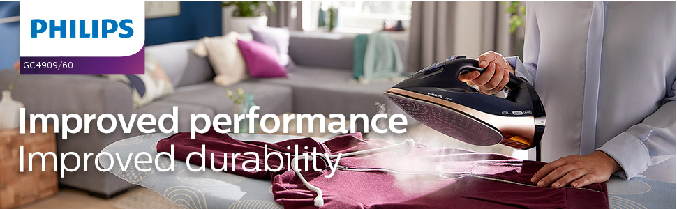 Improved performance. Improved durability.