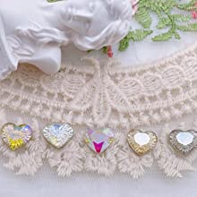 3D Embossed Firework Love Heart Diamond