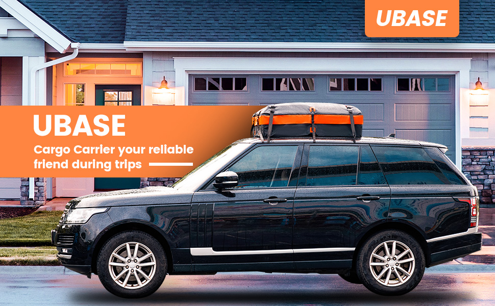 UBASE Cargo Carrier your reliable friend during trips