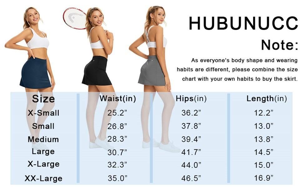 Women Modest Running Skirt Travel Skirts with Pocket Skirt High Waist with Shorts