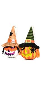 Pre-lit Halloween Jack-o-Lantern