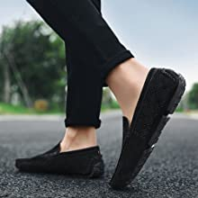 Comfort office daily walking loafers