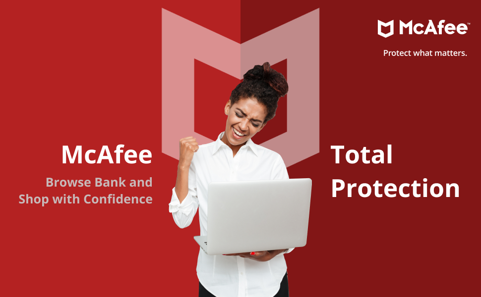 McAfee Total protection Antivirus software