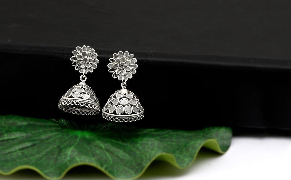 Jhumki Polki Earrings