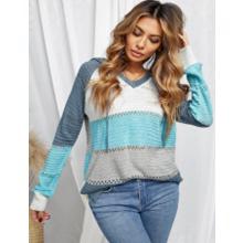 Actloe Blue Sweatshirt for Women