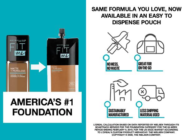 maybelline america's #1 foundation